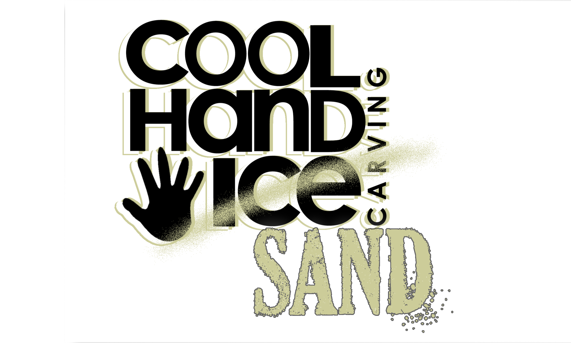 Cool Hand Ice logo SAND png