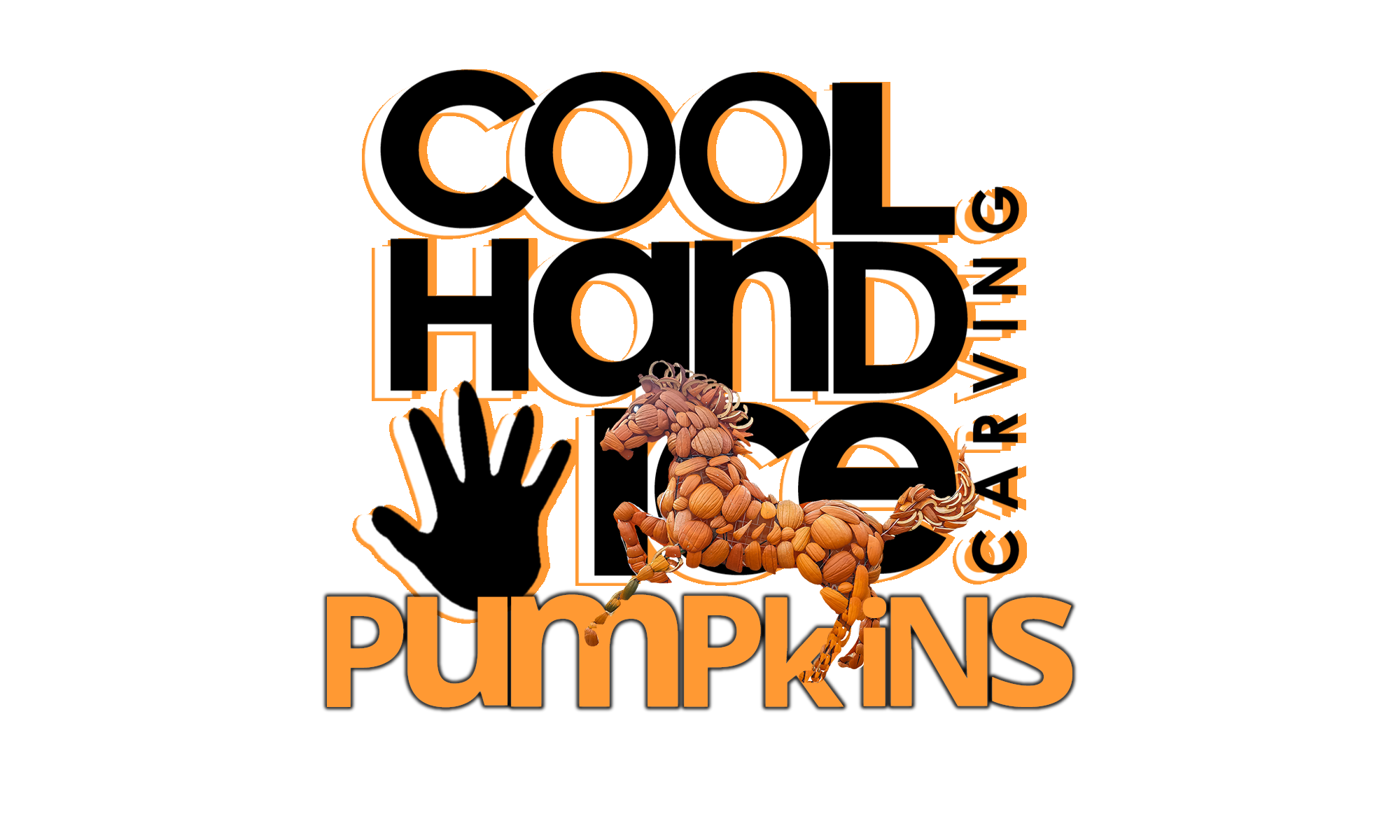 Cool Hand Ice logo pumpkins png